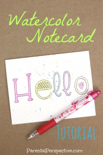This tutorial walks you through every step of using Silhouette sketch pens to create a simple notecard. They're easy to make and sure to bring a smile to anyone's day!