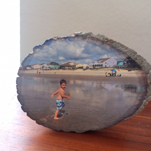 Diy Wood Slice Photo Transfer Parental Perspective Here you have a good gift for family, friends, love, best niece. diy wood slice photo transfer