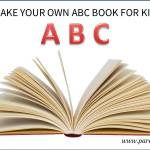Make your own ABC book