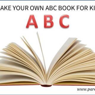 Make your own ABC book for kids via www.parentclub.ca