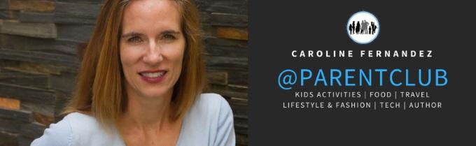 PARENT CLUB Caroline Fernandez business card