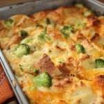 cheese and broccoli strata