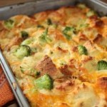 cheese and broccoli strata