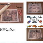 DIY Place Mat For Kids