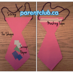 DIY Paper Tie Kids Craft