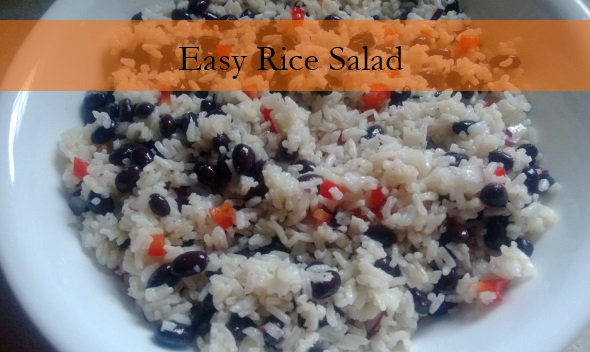 Easy Rice Salad via www.parentclub.ca