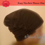 Gifts Kids Can Make – Easy No-Sew Fleece Hat