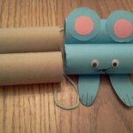 toilet paper mouse craft