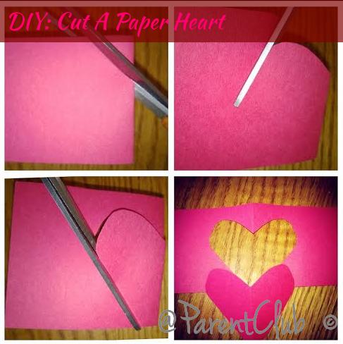 DIY Cut A Paper Heart