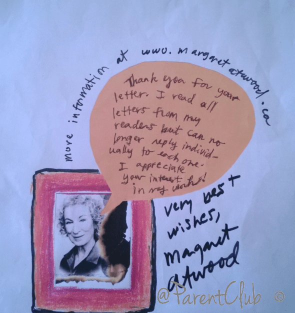 Margaret Atwood Autograph