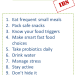 Tips For Living With IBS