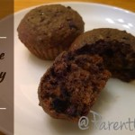 Healthy Muffins Chocolate Blueberry Qi'a