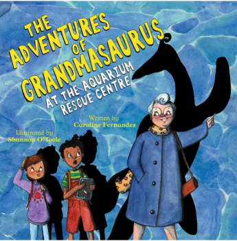 Grandmasaurus 2 by Caroline Fernandez