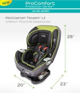 ProComfort_TriumphLX_Specifications_Upright