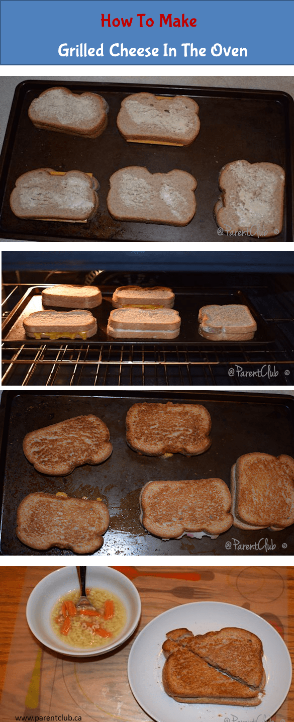 How To Make Grilled Cheese In The Oven