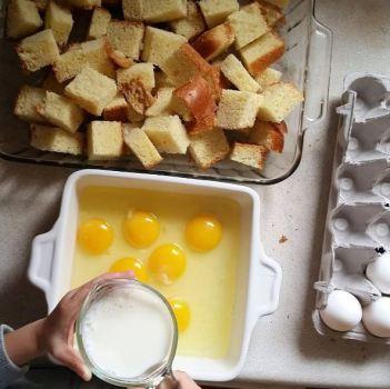 French toast casserole via www.parentclub.ca