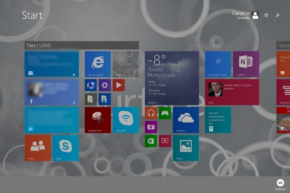 Work and Play - Microsoft Windows