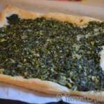 Spinach, Onion, and Feta in Puff Pastry
