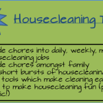 House Cleaning Schedule Tips