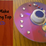 How To Make A Spinning Top Using A CD