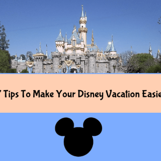 7 Tips To Make Your Disney Vacation Easier