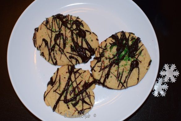 Becel Anything Goes Cookie Batter, Chocolate Drizzle Cookies, baking, holidays