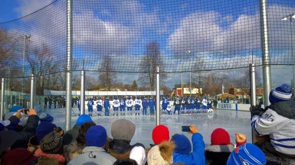 Parent Club w linky 2b, Toronto Maple Leafs Annual Outdoor Practice, NHL, Hockey