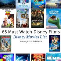 65 Must Watch Disney Films | Disney Movies List