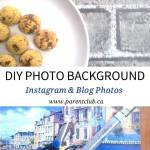 DIY Photo Background Instagram & Blog photos