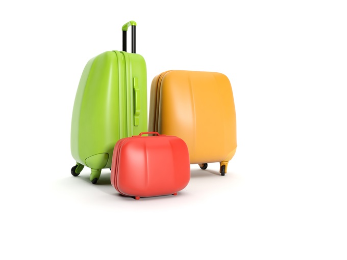 suitcases, family travel, packing, vacation