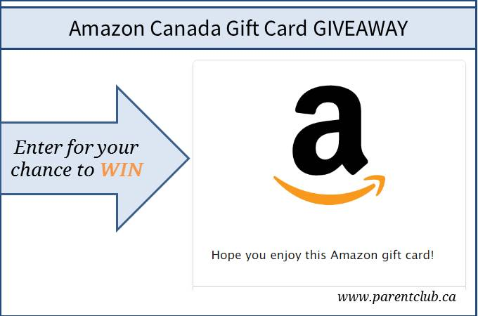 Parent Club Amazon Canada Gift Card Giveaway