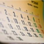 Calendar, monthly calendar