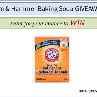 Arm & Hammer Baking Soda Giveaway