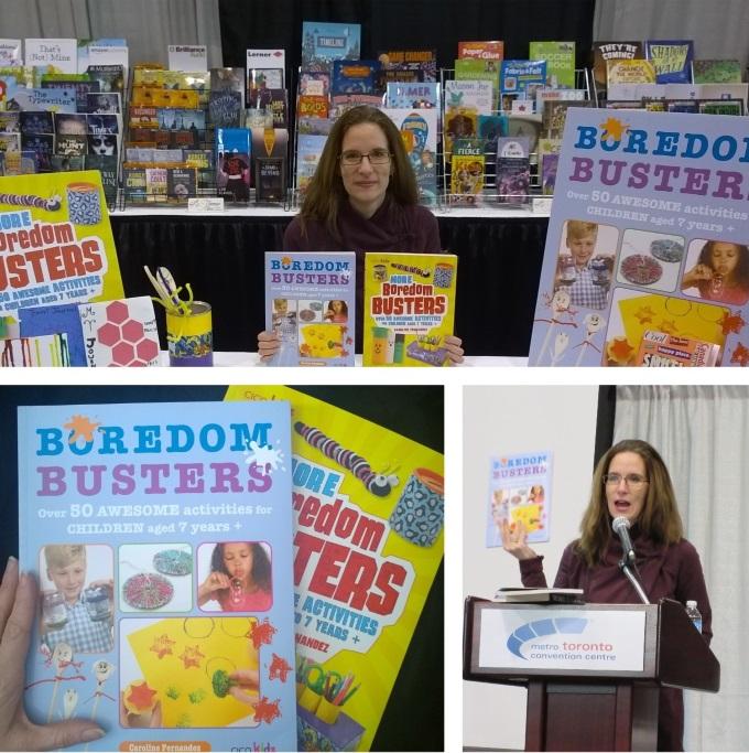 Caroline Fernandez, books, author of boredom busters, more boredom busters creator of www.parentclub.ca