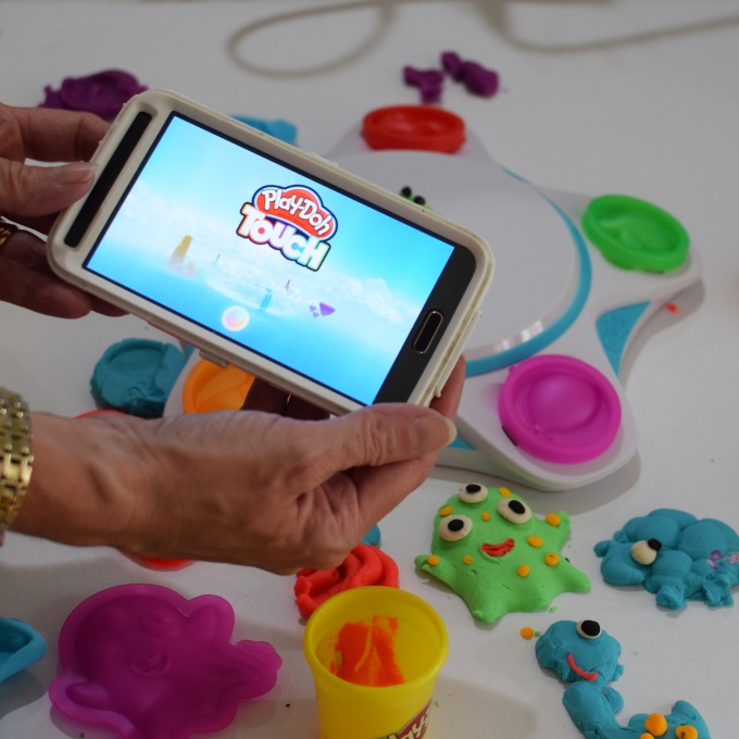 Play-Doh Touch Shape to Life Studio where creations come to life via www.parentclub.ca
