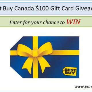 Best Buy Canada $100 Gift Card Giveaway via www.parentclub.ca