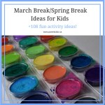 March Break/Spring Break Ideas for Kids