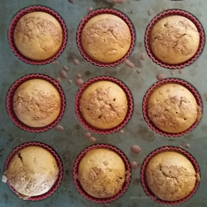 Easy Coffee Cake Muffins With Brewed Coffee Via Www Parentclub Ca