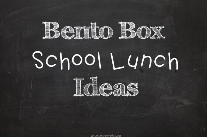 Bento Box School Lunch Ideas via www.parentclub.ca