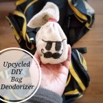 Upcycled DIY Bag Deodorizer