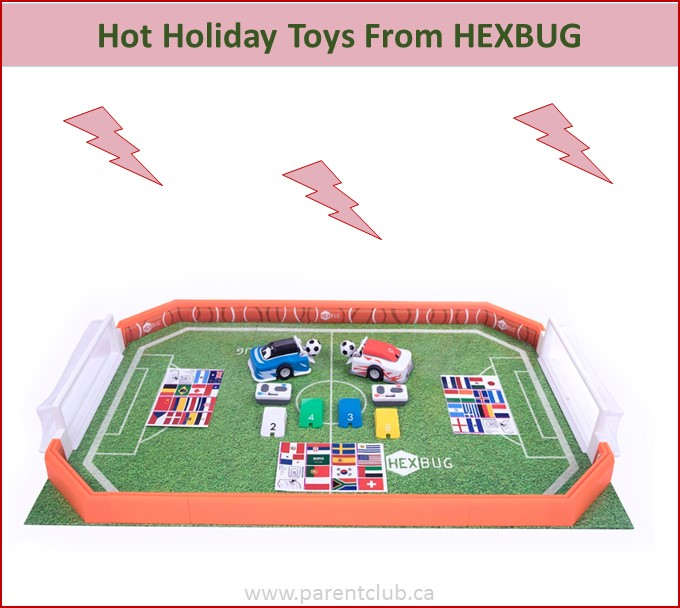 Hot Holiday Toys from HEXBUG via www.parentclub.ca