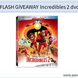 flash giveaway incredibles 2 dvd