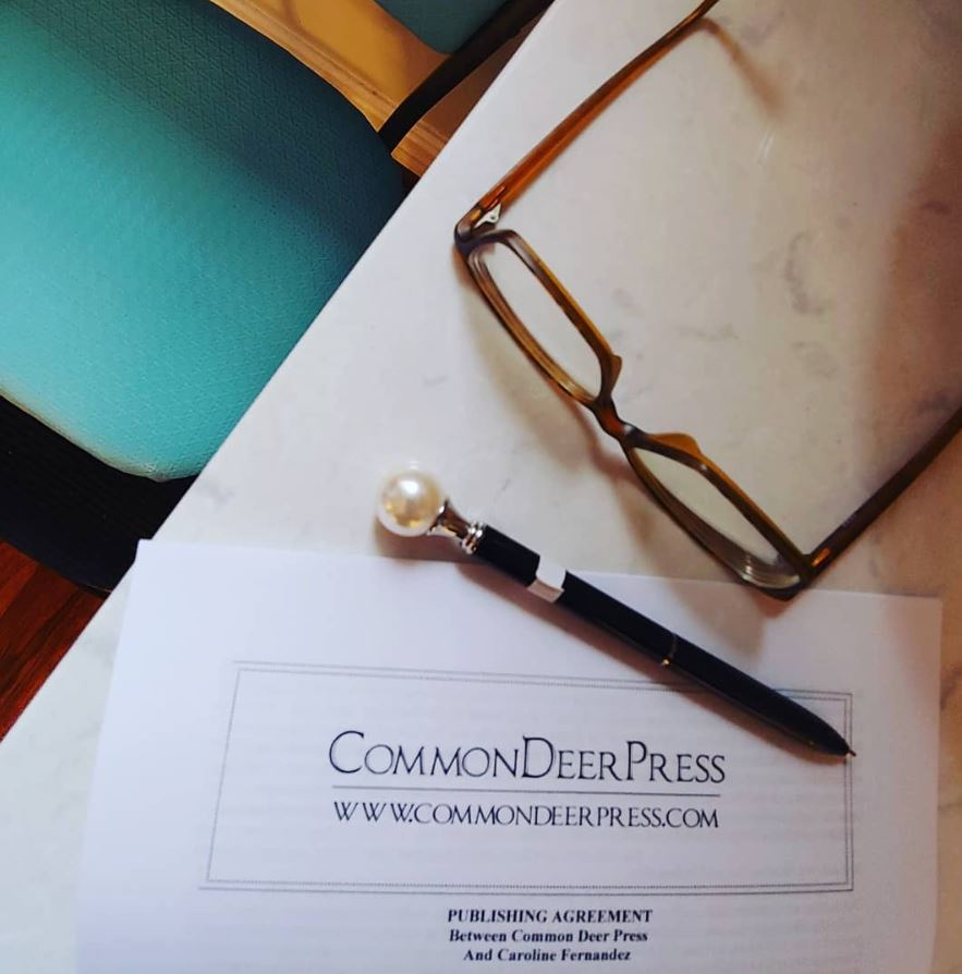 common deer press and caroline fernandez