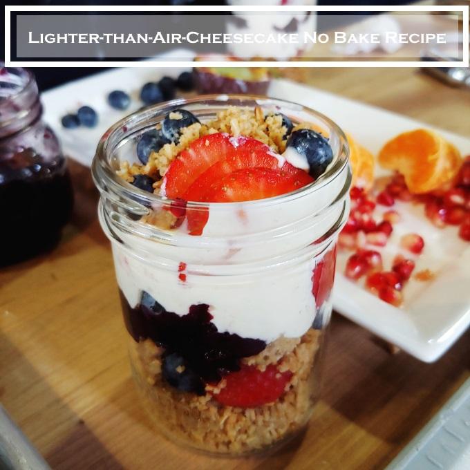 Lighter-than-Air-Cheesecake No Bake Recipe via www.parentclub.ca easy recipes