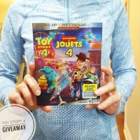 Toy Story 4 DVD BlueRay Giveaway