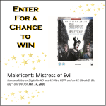 MALEFICENT: MISTRESS OF EVIL BLU-RAYTM GIVEAWAY