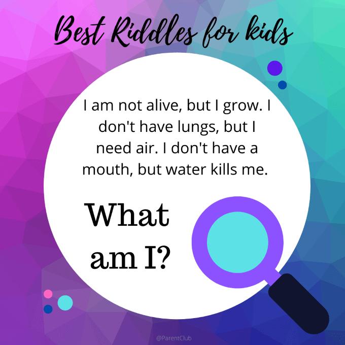 best what am I riddles for kids via www.parentclub.ca