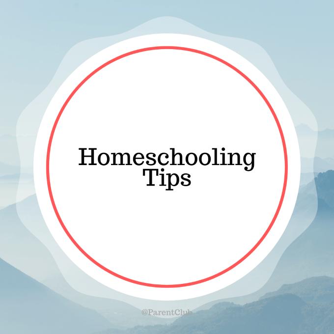 Tips for Homeschooling During Coronavirus (Covid_19) homeschooling tips via www.parentclub.ca