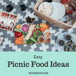 easy picnic food ideas via www.parentclub.ca, summer food, buffet ideas