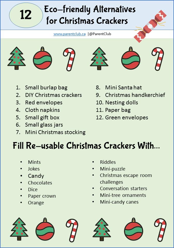 12 Eco-friendly Alternative Christmas Cracker Ideas